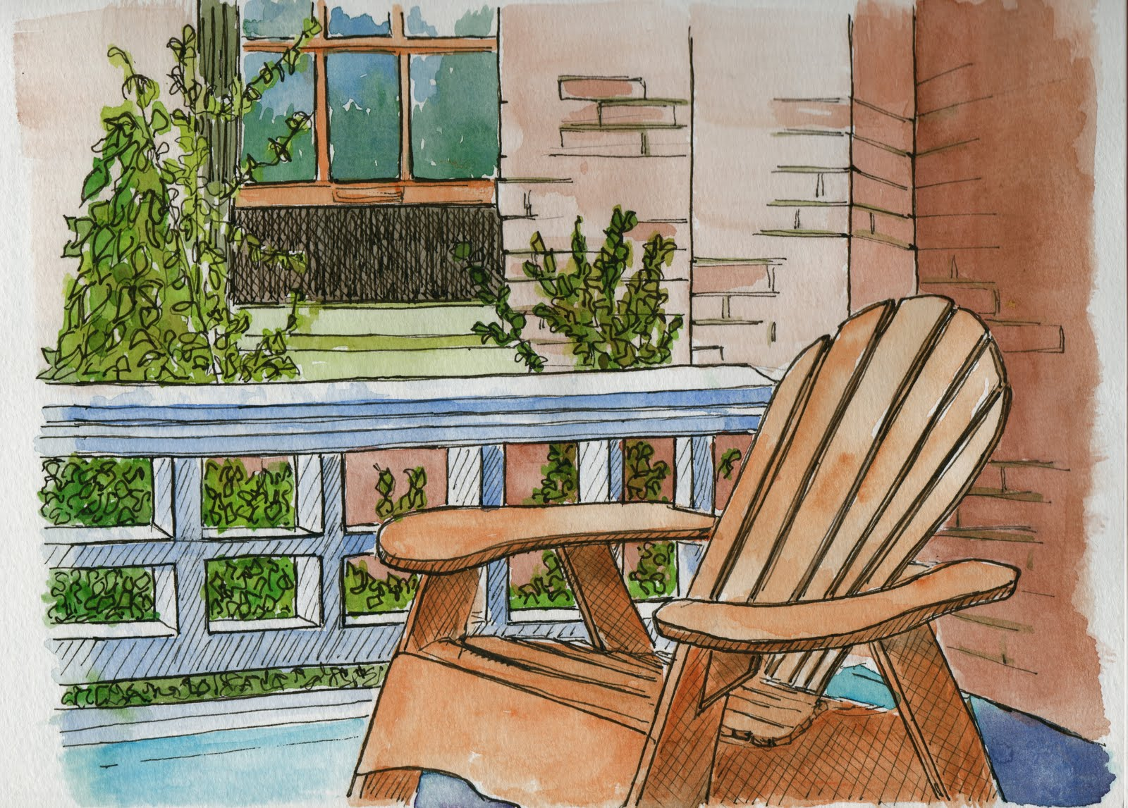 adirondack chairs portland oregon asian massage draw2c summer sketching