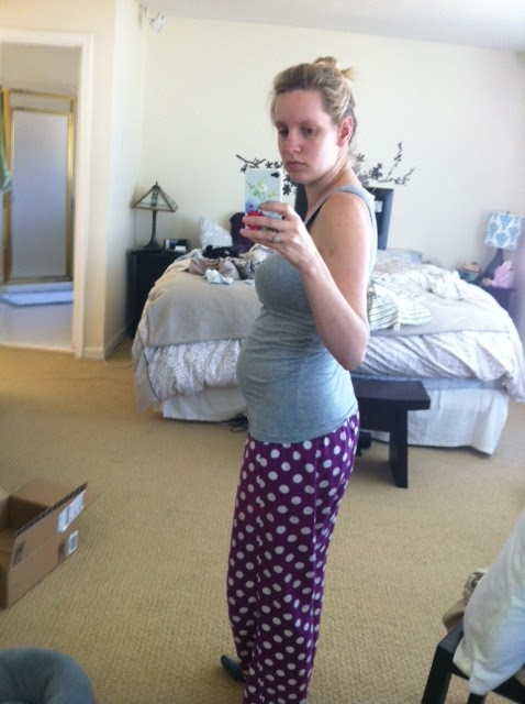 8 Pregnant Weeks And Bloated