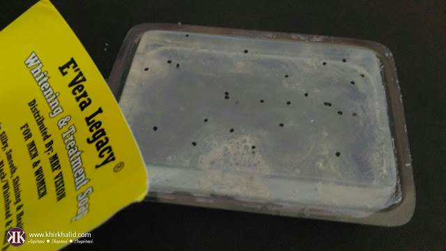 Evira legacy whitening soap,
