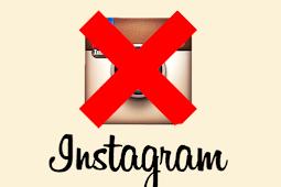 Instagram Delete Your Account