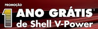 Promoção 1 ano Grátis de Shell V-Power