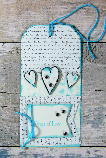How to Create Wedding Themed  Tags With Hearty Doodles Stamps