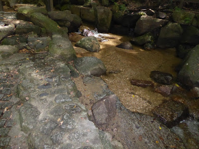 源氏の滝(交野市) 川
