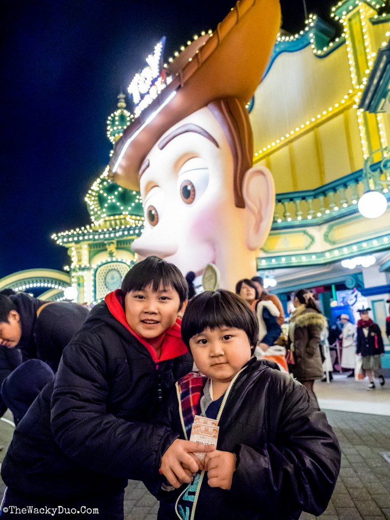 Toy Story Mania DisneySea Review - The Wacky Duo ...