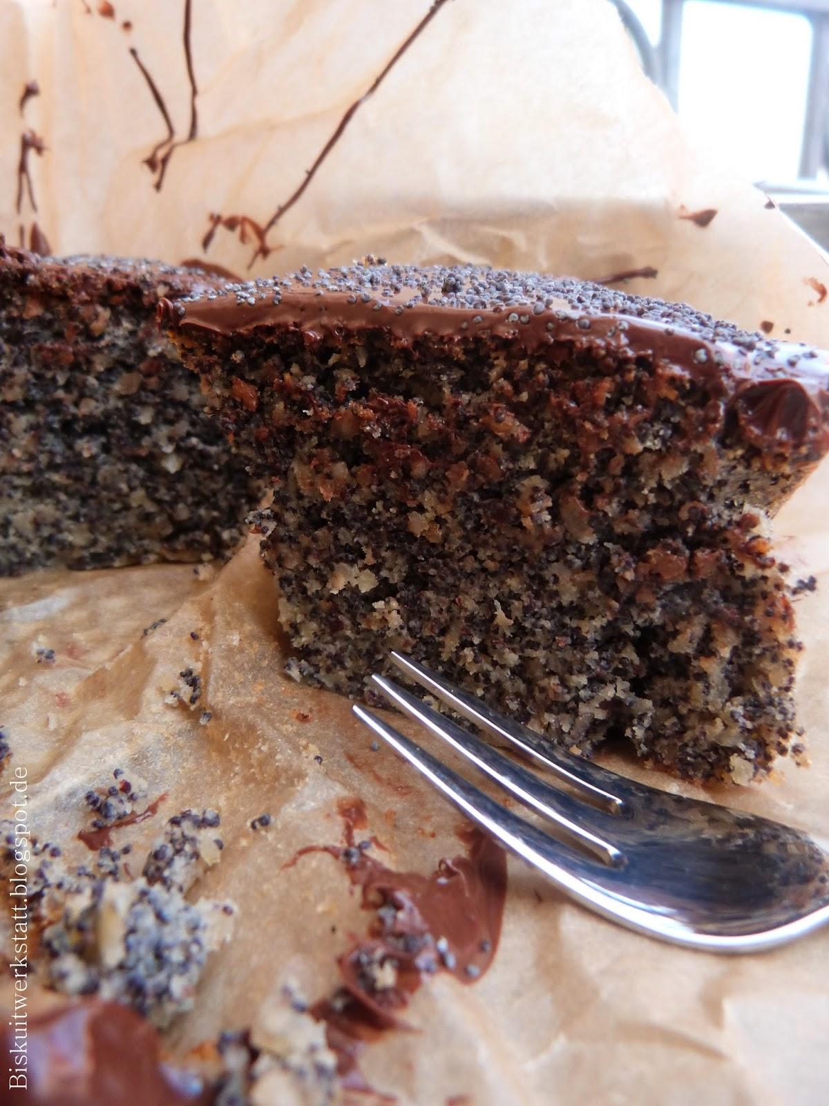 Sudtiroler Mohn Nuss Kuchen Glutenfrei Biskuitwerkstatt