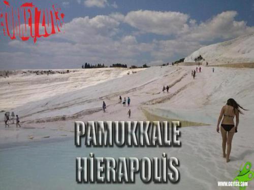2013/07/19 Türkiye Turu 9. GÜN (Pamukkale & Hierapolis)