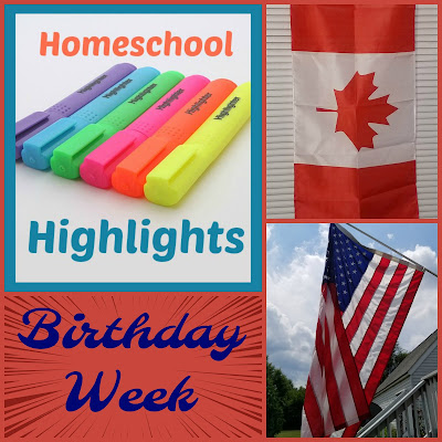 Homeschool Highlights - Birthday Week on Homeschool Coffee Break @ kympossibleblog.blogspot.com