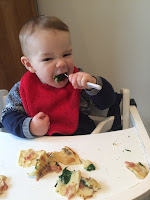 toddler eating weaning