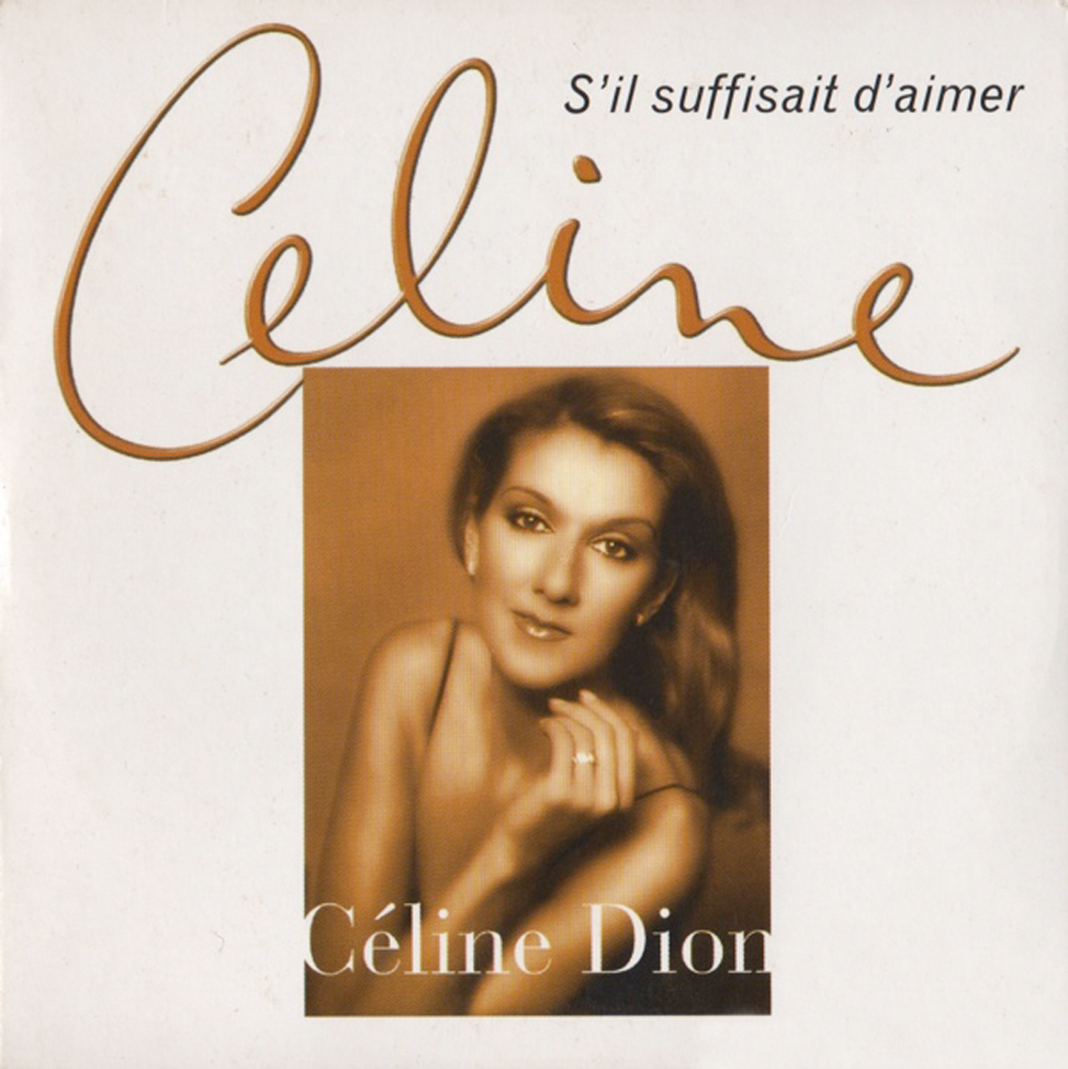 celine dion 1998 s 39 il suffisait d 39 aimer france card sleeve. Black Bedroom Furniture Sets. Home Design Ideas