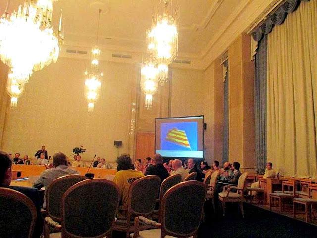 Em reunião de 2015 no Kremlin, agitador separatista catalão anuncia próxima independência