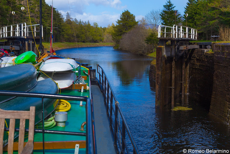 Caledonian Canal Loch Scotland Cruise Caledonian Discovery