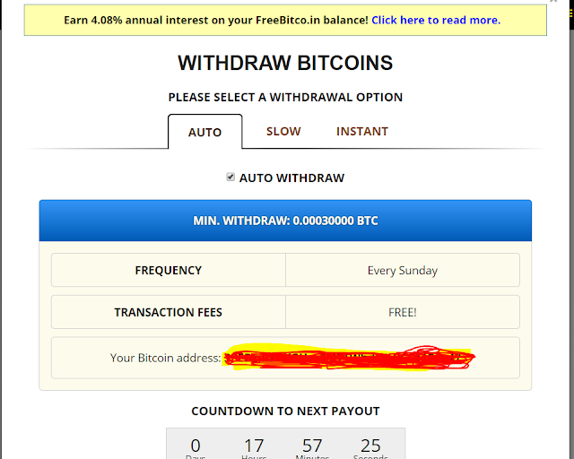 شرح طريقة الربح من موقع freebitcon