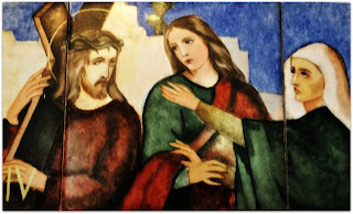 Via Sacra 04 'Jesus Encontra a Mãe', na Capilla Hotel de Villavicencio