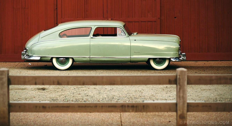 Just A Car Guy: Barn find Nash Ambassador Super Special ...