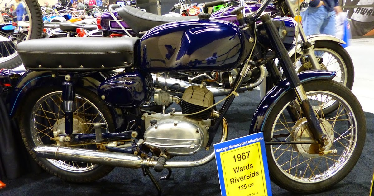 OldMotoDude: 1967 Benelli/Wards Riverside 125 At The 2014