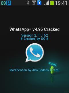 whatsapp plus v 4.95