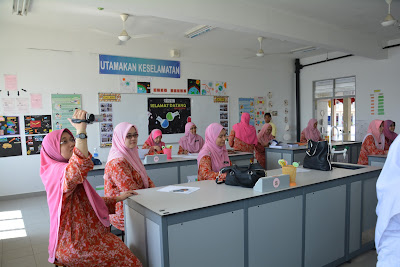 Peer Coaching dengan Guru Sains SMK Sultan Abdul Aziz Shah, Kajang