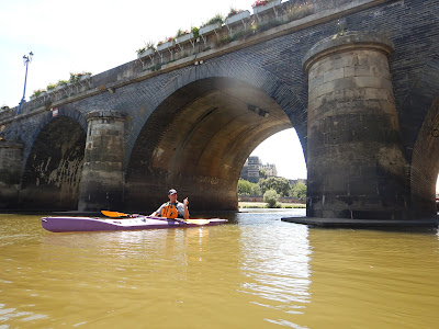 Nigel Foster image, Point65 kayak on yellow water, France