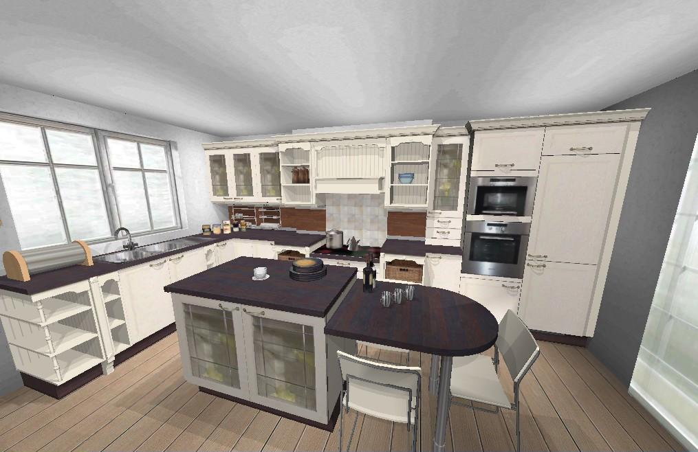cuisine avec ilot central pour manger deco maison moderne. Black Bedroom Furniture Sets. Home Design Ideas