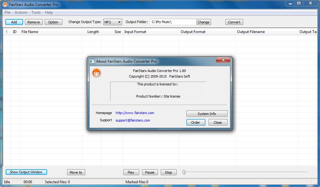Get FairStars Audio Converter Pro Crack