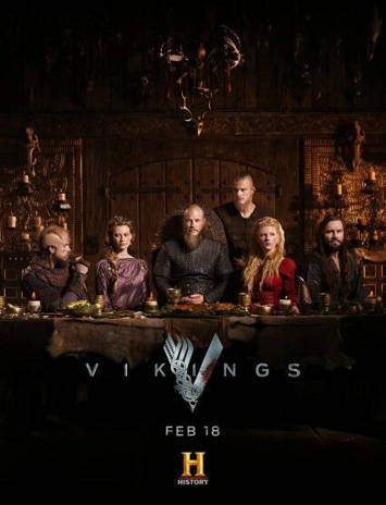 Vikings Temporada 4 HD 720p Español Latino
