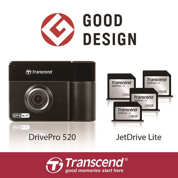 The DrivePro 520 Dual Lens Car Video Recorder & the JetDrive Lite Expansion Cards