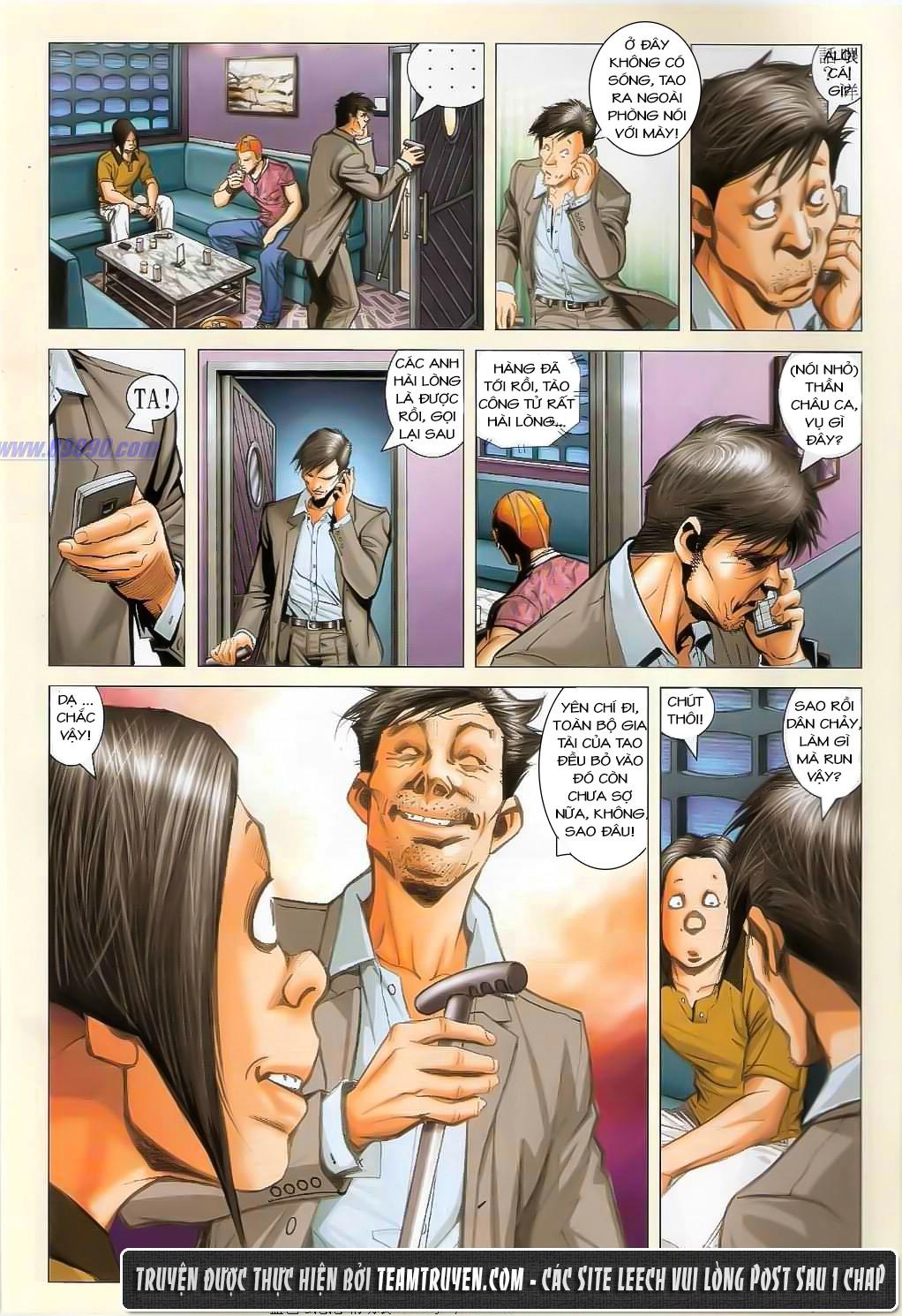 Người Trong Giang Hồ NetTruyen chap 1362 - Trang 5