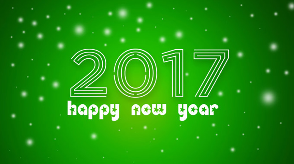 2017 Happy New Year Wallpapers