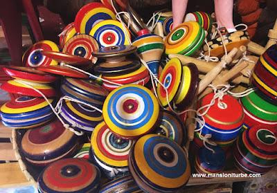Juguetes Artesanales de Madera de Michoacán