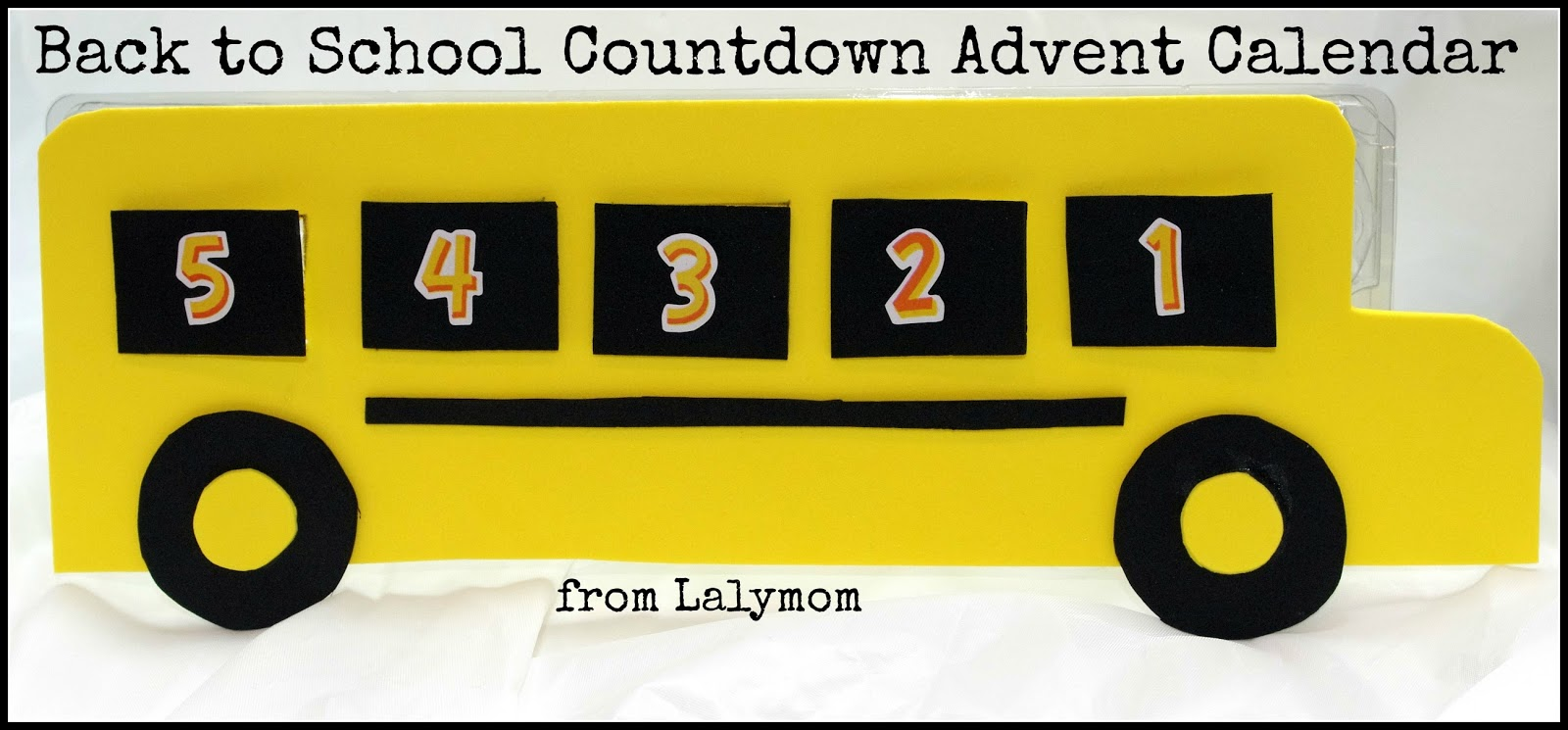 Calendar Craft Ideas For School