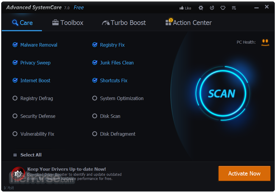 Advanced systemcare 7 key download.