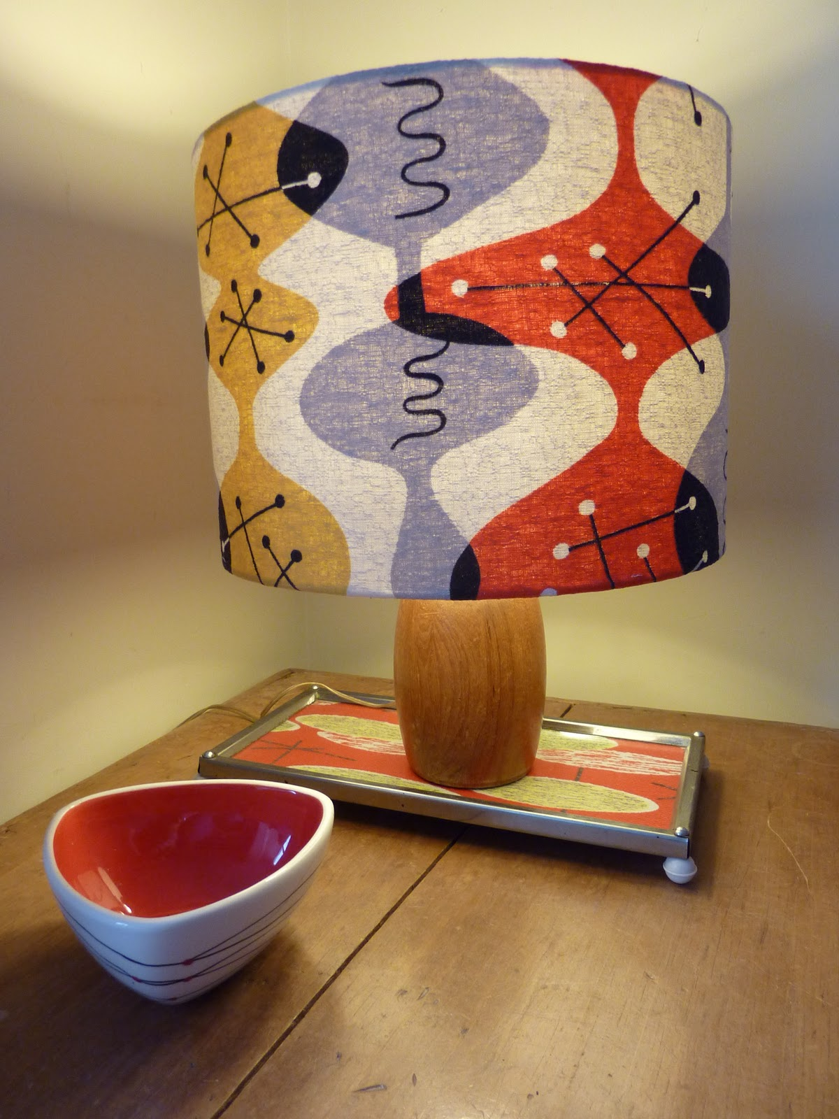 Choosing A Lampshade The Custards Lampshade Making Simple But Quite Effective