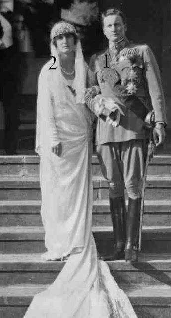 Mariage Maison impériale d'Autriche-Maison  royale de Saxe