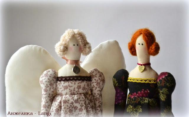 Винтажные ангелы
