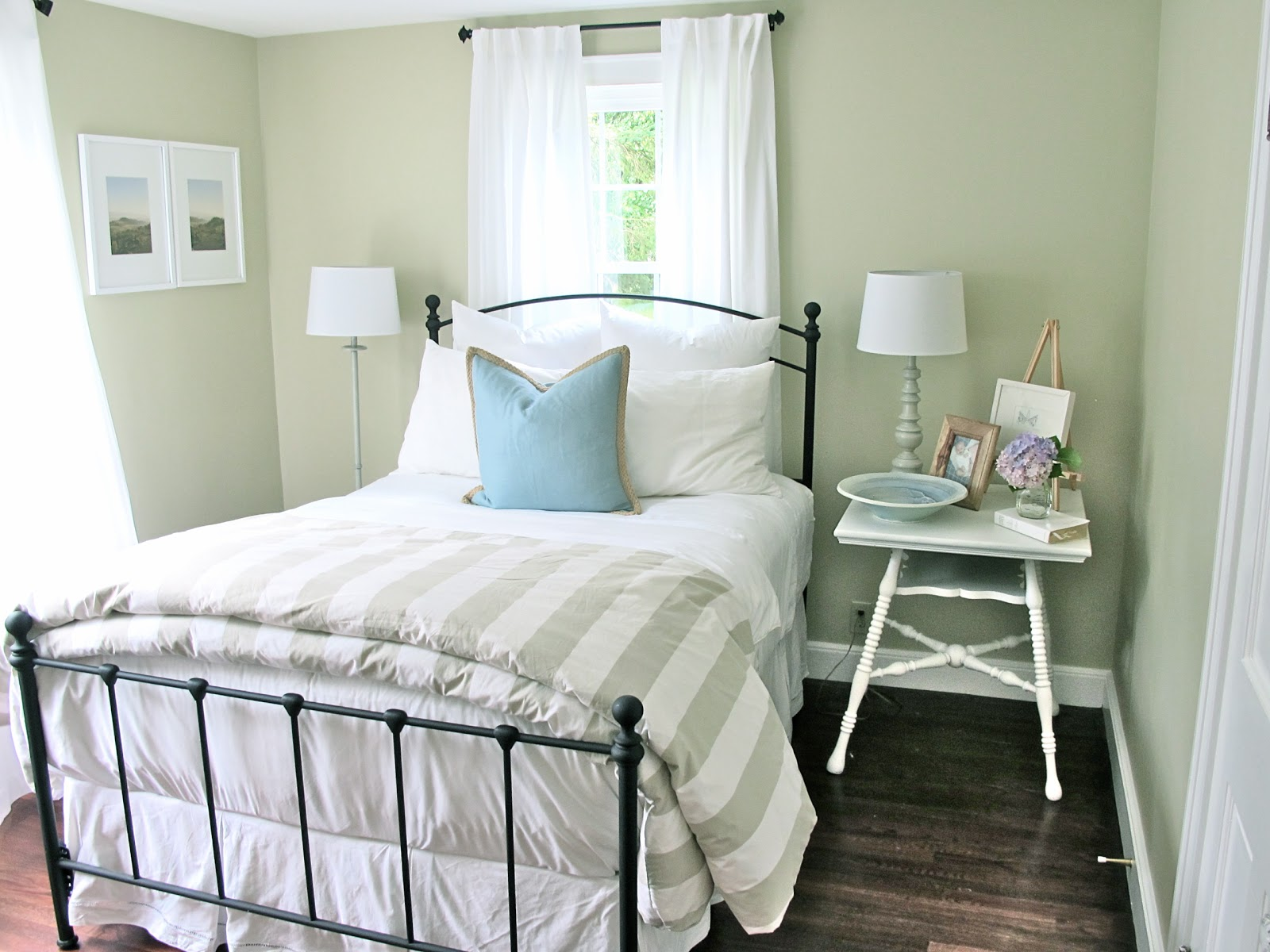 Jenny Steffens Hobick Guest Bedroom  Our New Home in Concord  Refreshing a Guest Bedroom