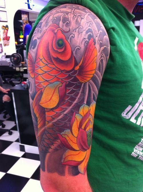 tatuajes de carpas para hombres