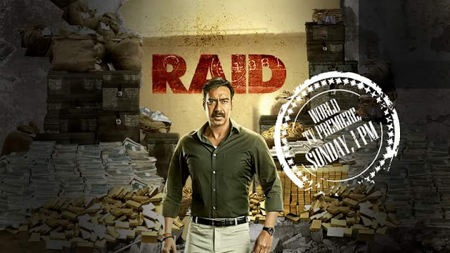 'Raid' Movie Tv Premier on Star Gold Wiki,Timing,Song,Cast