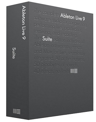 Ableton Live Suite 9.7.1 poster box cover