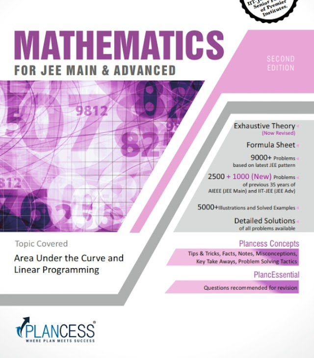 AREA UNDER THE CURVE AND LINEAR PROGRAMING NOTE BY PLANCESS