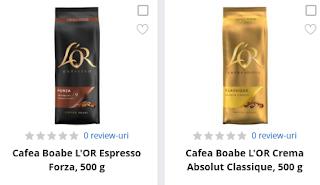 Achizitioneaza cafea marca L'or direct de aici