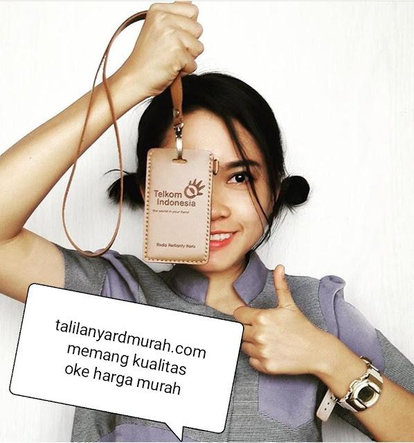 Jual tali lanyard gantungan id card murah Jakarta