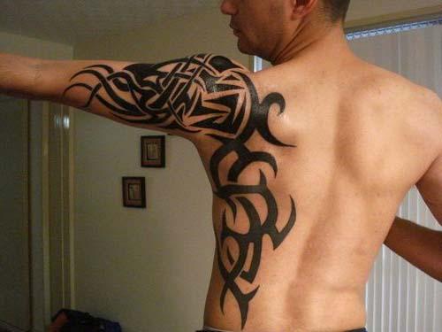 erkek tribal dövmeler man tribal tattoos 4