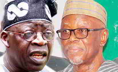 Asiwaju Bola Ahmed Tinubu and John Odigie-Oyegun | APC Leadership