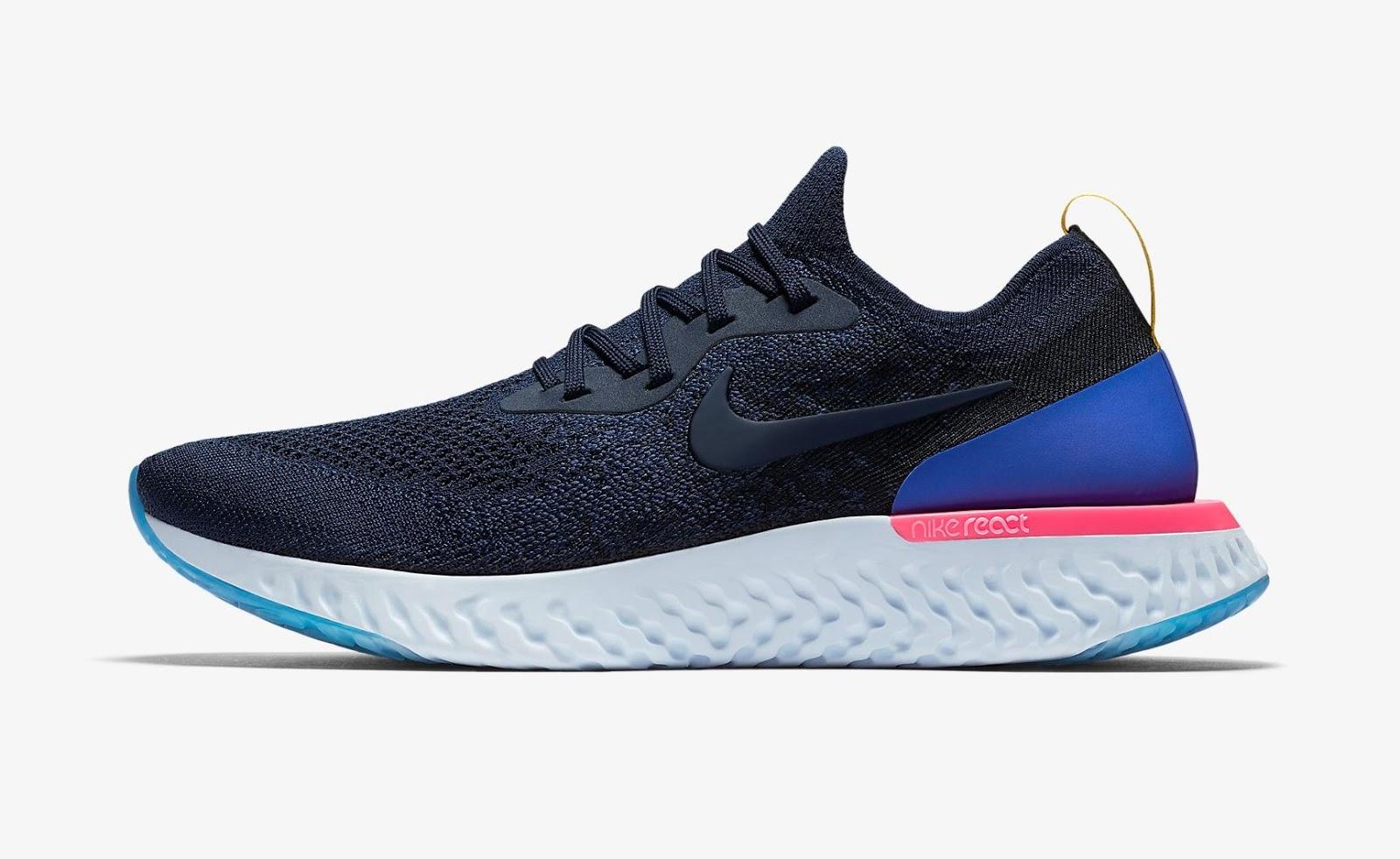 Nike apresenta o Epic React Flyknit, novo tênis para corredores