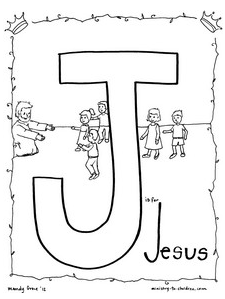 J is for Jesus (The Legend of the Candy Cane Homeschool