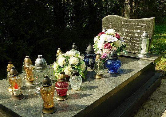 Grób Teodora Majkowicza.
