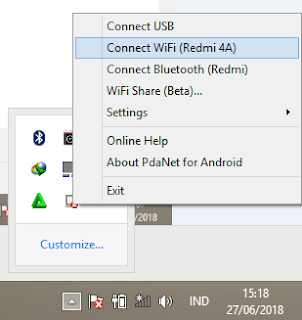 proses connect tethering vpn pada laptop