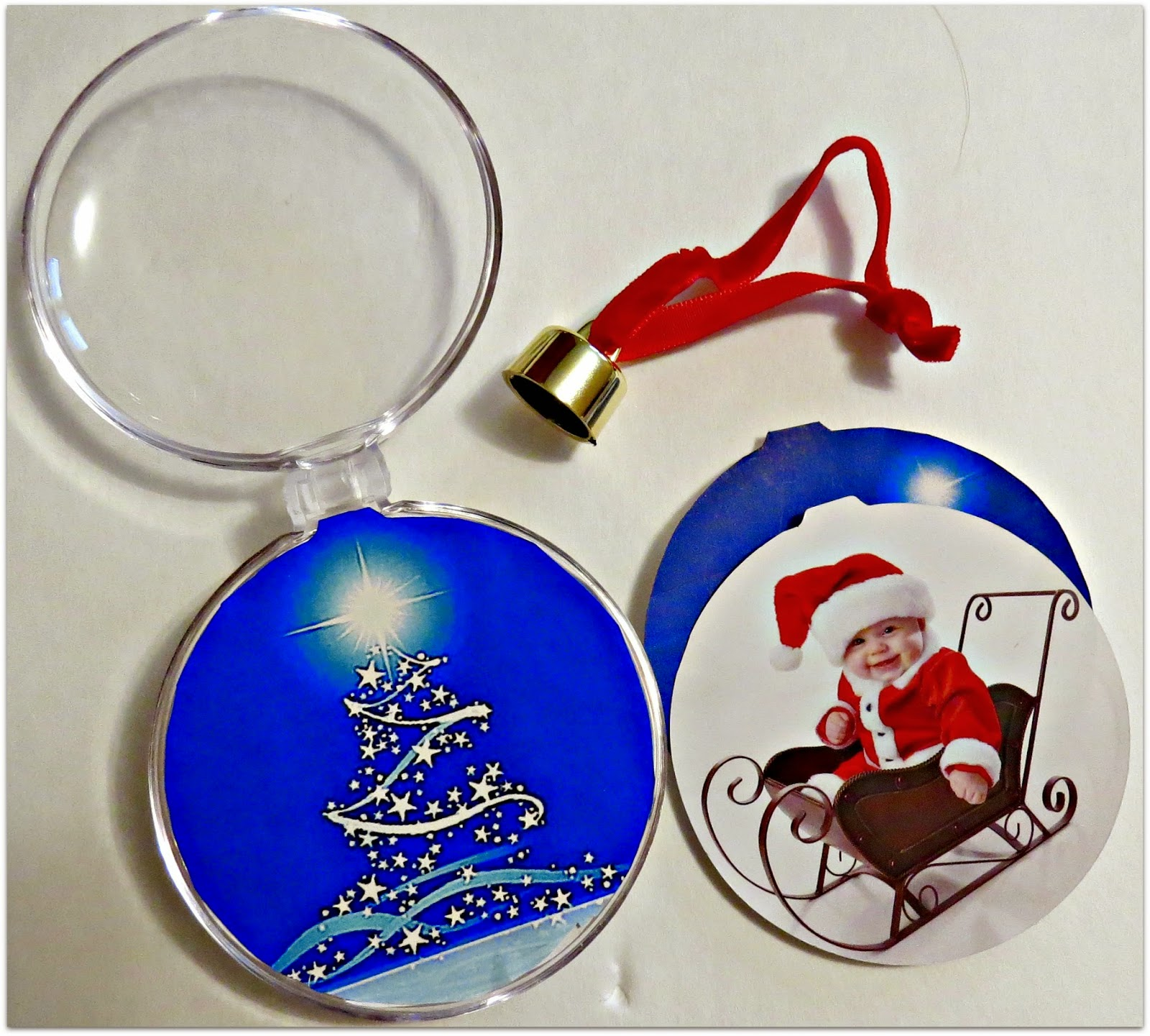 Elf Gift Exchange Bonds Bloggers, Personalized Ornament, D&LP Designs