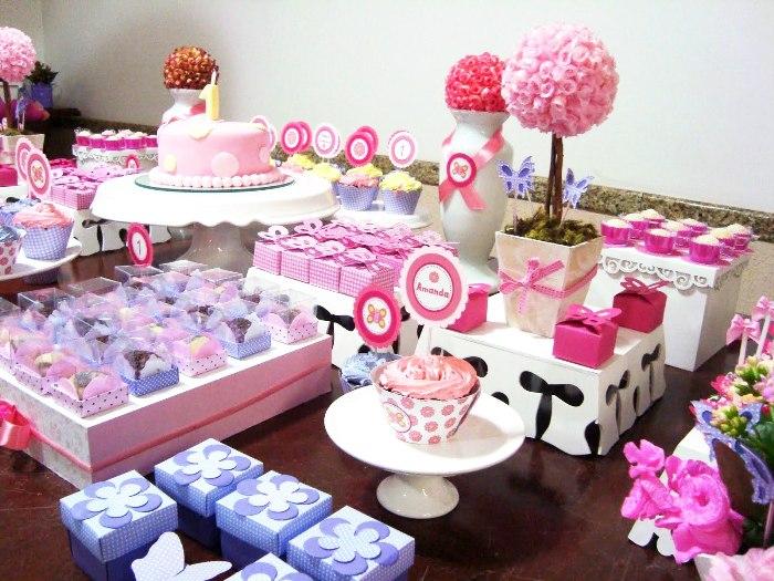 Blog Garden Party Cake Ideas Birthday Decoration