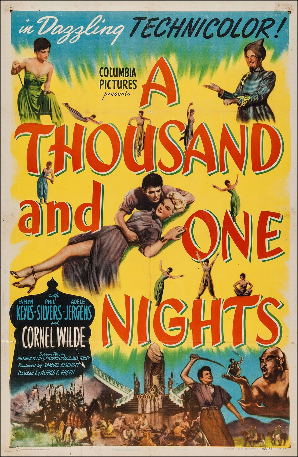 Evelyn Keyes Is Magic In... A Thousand And One Nights (1945